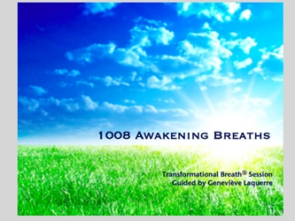 1008 Awakening Breaths CD [DOWNLOAD VERSION] 1008 Awakening Breaths Download Genevieve Laquerre e-product