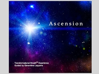 Ascension - Guided Sessions CD [DOWNLOAD VERSION] Ascension - Guided Breathwork Sessions Genevieve Laquerre e-product download