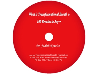 What is Transformational Breath® / 100 Breaths CD [DOWNLOAD VERSION] What is Transformational Breath?, 100 Breaths, CD, Downloadable Version, Transformational Breath, e-product, Judith Kravitz