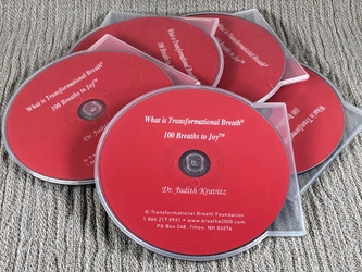 What is Transformational Breath®? and 100 Breaths CD What is Transformational Breath?, 100 Breaths CD, Transformational Breath, Judith Kravitz